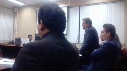 Juicio contra alcalde Omar Candia quedó visto para sentencia
