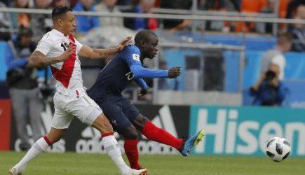 Perú perdió ante Francia 1 a 0 y quedó fuera de Rusia 2018