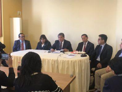 Alfredo Alvarez pide nuevas elecciones en Colegio de Abogados