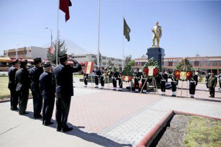 Gobierno Regional entregó obras en Colegio Militar Francisco Bolognesi