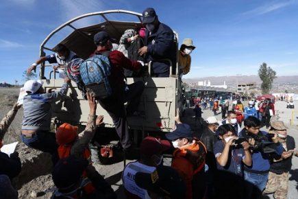 Unas 300 mil personas tendrían que evacuar ante erupción del Misti