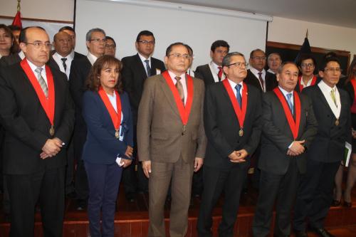 Magistrados se han declarado en sesión permanente