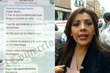 """Congresista Alejandra Aramayo en La Botica: """"… solos hemos blindado a Hinostroza"""""""