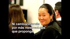 """Keiko Fujimori: """"¿Por qué tanto odio?"""""""