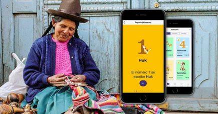 Universitarios crean app móvil gratuita para aprender quechua