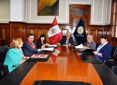 José Luis Lecaros presidirá reunión con 35 presidentes de cortes en Arequipa
