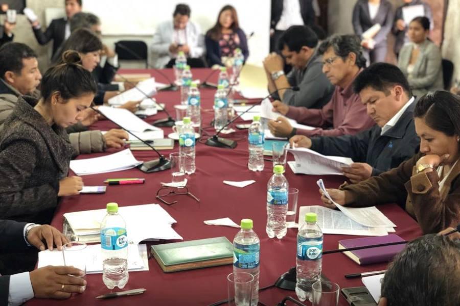 sesión de consejo regional de Arequipa
