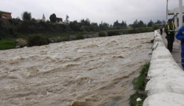 desborde del río chili