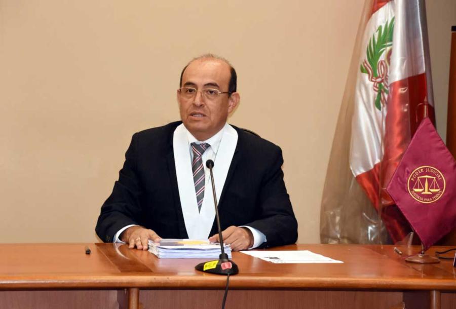 Victor Raúl Zuñiga Urday, juez que resolverá el caso de Keiko Fujimori
