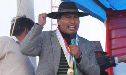 Entre Las Bambas, Aduviri y Evo Morales