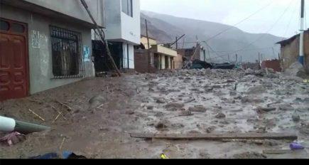 #LoMásVisto2019: Aplao en emergencia por ingreso de huaicos y lluvias torrenciales