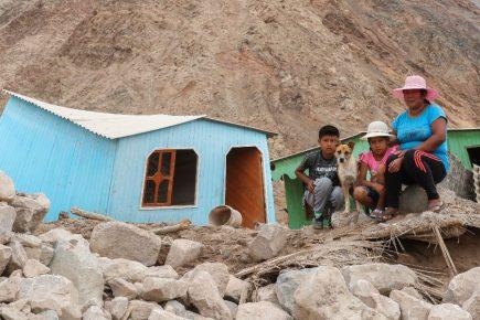 Arequipa: Se acaba comida para damnificados de huaico en Aplao
