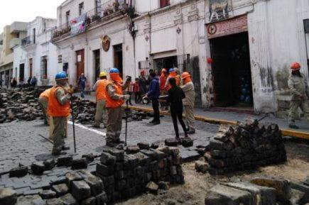 Pese a protestas de vecinos, Municipio de Arequipa inició obras en calle Jerusalén