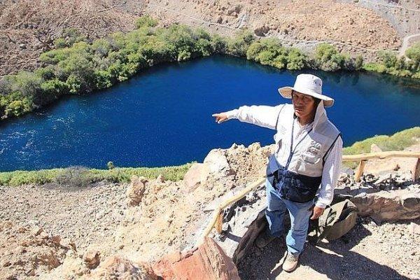 arequipa laguna mamacocha hidroelectrica