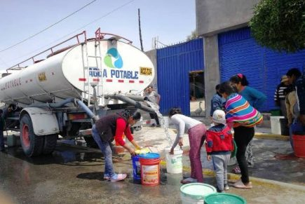Arequipa: corte de agua potable en 11 distritos por huaycos en bocatoma de Sedapar