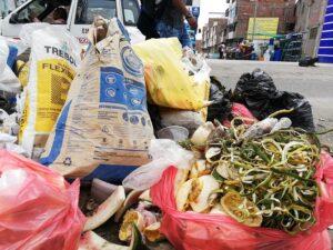 Más de 180 toneladas de basura son recogidas en el centro de Arequipa en Navidad