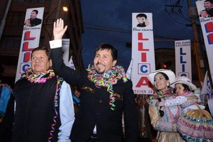 Walter Gutiérrez denunció que Cáceres Llica se niega a recibirlo