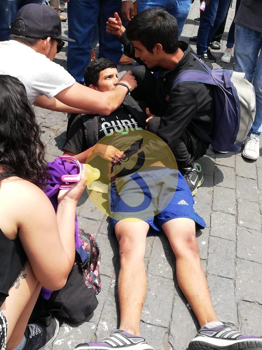 venezolano herido