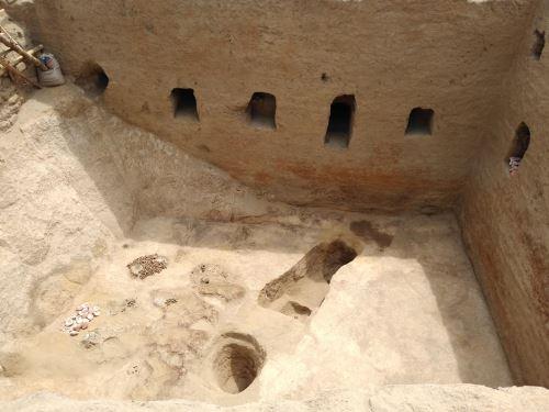 Protección de tumba en Lambayeque