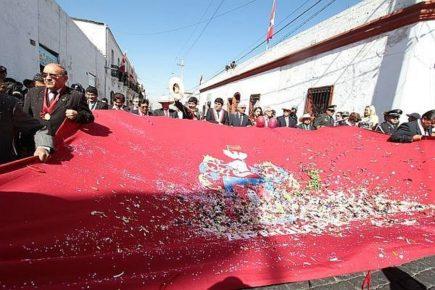 Proyecto para crear nuevo himno y símbolos de Arequipa fue retirado por su propio autor