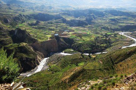 UNESCO reconoció al Geoparque Cañón del Colca y Valle de los Volcanes de Andagua