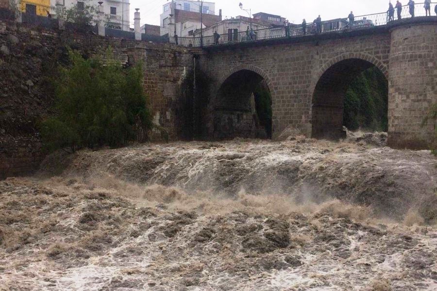lluvias en arequipa río chili