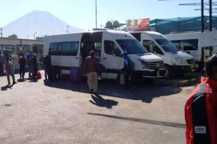 Gerencia de Transportes  planea retirar más de 100 minivans en dos meses