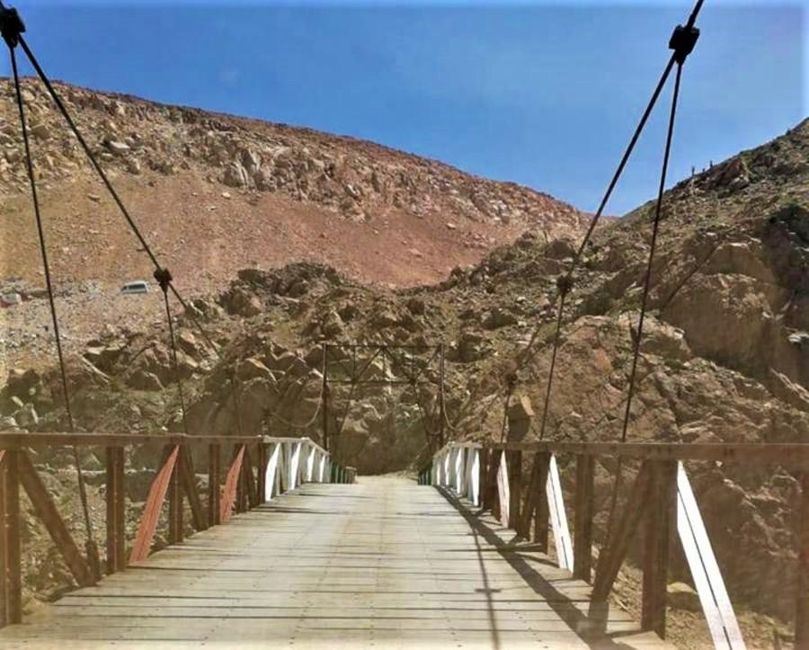 Peligro por puente