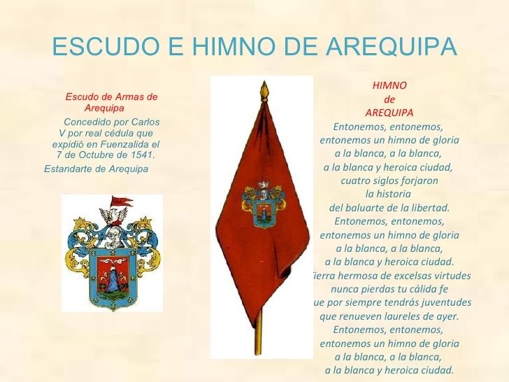 Simbolos de Arequipa