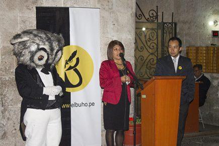 Arequipa. El Búho celebró 19 aniversario premiando el talento arequipeño (fotos y video)