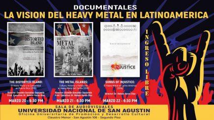 Ciclo documentales: La visión del heavy metal en Latinoamérica