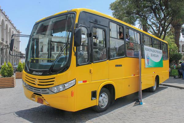 Arequipa SIT municipalidad provincial cronograma preoperatividad buses