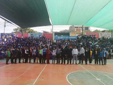 Escolares y docentes de la I.E. San Martín de Socabaya optimizaron el uso del agua