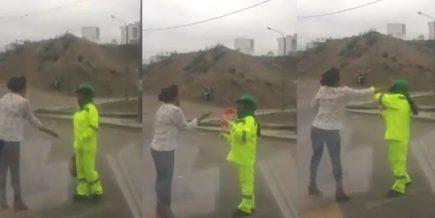 Conductora que agredió a trabajadora del GRA es amenazada de muerte