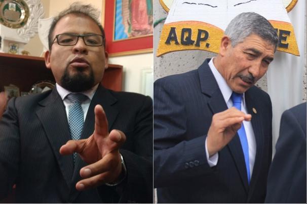 Arequipa Omar Candia Manuel Vera bienes públicos campaña