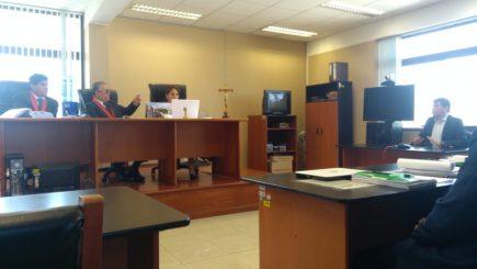 Sala revisa caso de cámaras de seguridad que involucra a alcalde Omar Candia