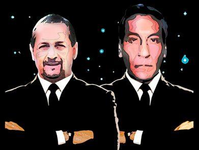 Eduardo Sobenes y José Paredes: con dios y con el diablo