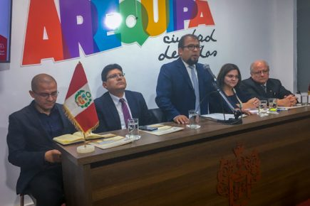 Arequipa: Pasos tímidos en los primeros dos meses de Omar Candia frente al municipio