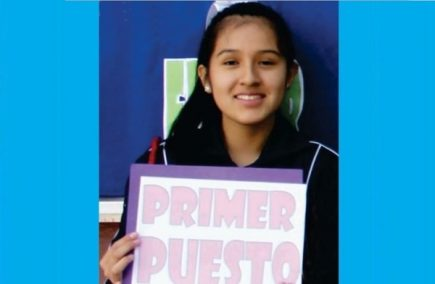 Talento arequipeño: Niña de 13 años primer puesto nacional en Colegios de Alto Rendimiento