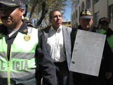"""«Hemos sido estafados"""": la carta que enviaron los presos denunciando al juez Gino Valdivia"""