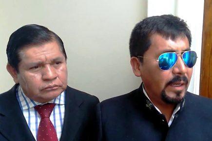 Vicegobernador calificó con un cero gestión de Elmer Cáceres Llica