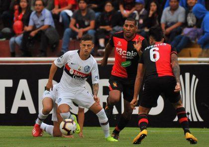 FBC Melgar empató con San Lorenzo en Arequipa por la Copa Libertadores
