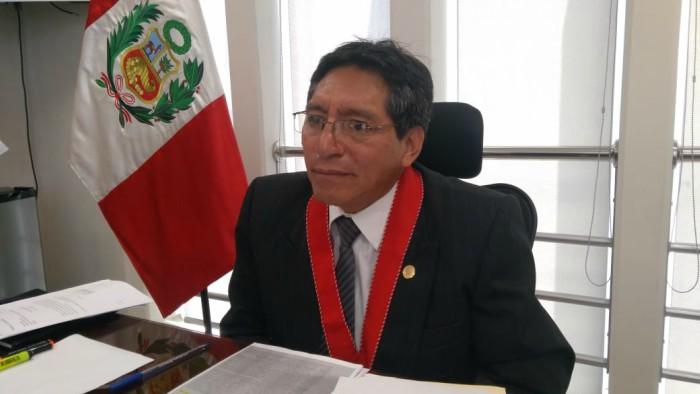 Presidente de la Junta de Fiscales, Franklin Tomy, se pronunció sobre caso de abuso a menor