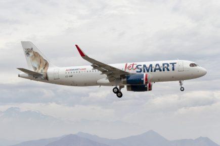 Aerolínea JetSMART presenta ruta Arequipa – Santiago con los costos más bajos del mercado