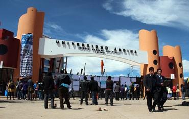 Universidad Andina: Lacran oficinas por caso de lavado de activos contra exrectores