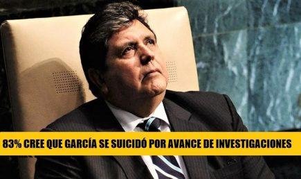 Alan García: De cómo un 83% de peruanos cree que suicidio fue por avance en investigaciones