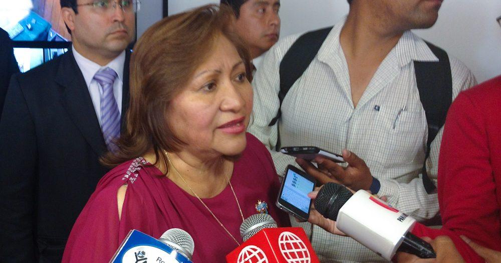 Ana María Choquehuanca declarando