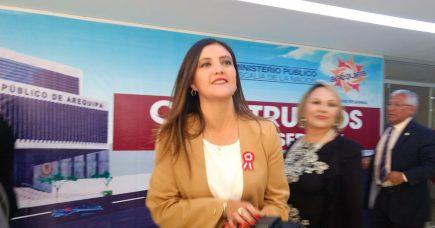 Yamila Osorio responde a congresistas y defiende transparencia de su gestión