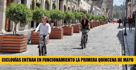 Conoce los detalles de las ciclovías que se habilitarán la primera quincena de mayo