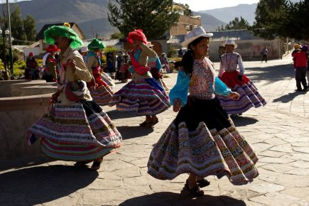 Yanque de aniversario y una oferta cultural tradicional